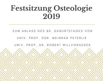 Festsitzung Osteologie 2019 Peterlik Willvonseder