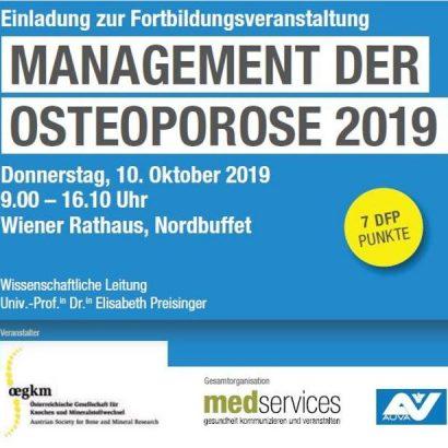 Management der Osteoporose